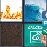 4 Pics 1 Word Level 4973 Answers