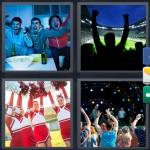 4 Pics 1 Word Level 5181 Answers