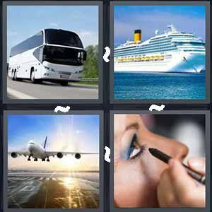 4 Pics 1 Word Level 555 Answers