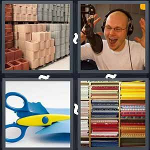 4 Pics 1 Word Level 557 Answers