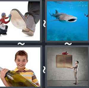 4 Pics 1 word Level 1038 Answers