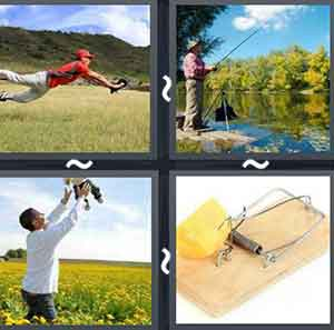 4 Pics 1 word Level 1076 Answers