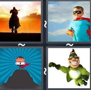 4 Pics 1 word Level 1109 Answers