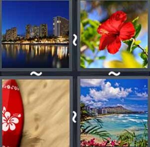4 Pics 1 word Level 1188 Answers