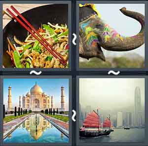 4 Pics 1 word Level 1216 Answers