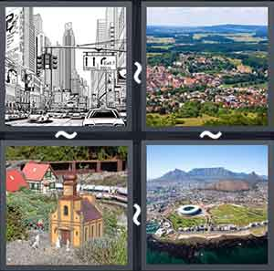 4 Pics 1 word Level 1224 Answers