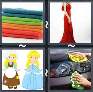 4 Pics 1 word Level 1258 Answers