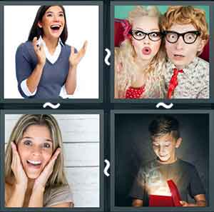 4 Pics 1 word Level 1261 Answers