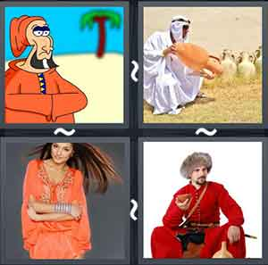 4 Pics 1 word Level 1278 Answers