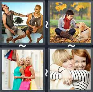 4 Pics 1 word Level 1292 Answers