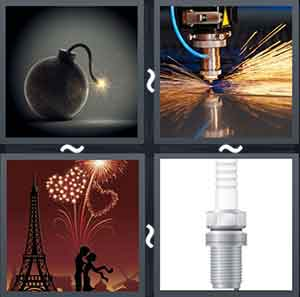 4 Pics 1 word Level 1323 Answers