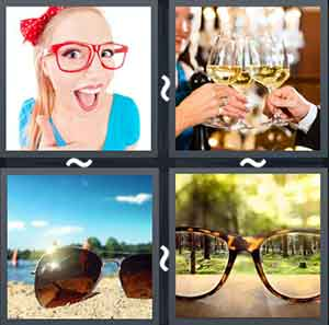 4 Pics 1 word Level 1328 Answers