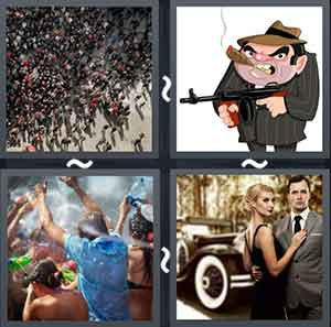 4 Pics 1 word Level 1338 Answers