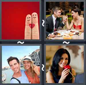 4 Pics 1 word Level 1344 Answers