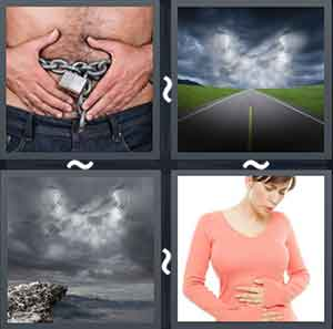 4 Pics 1 word Level 1357 Answers