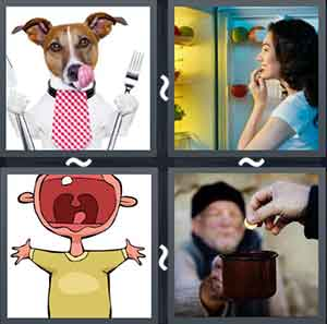 4 Pics 1 word Level 1374 Answers
