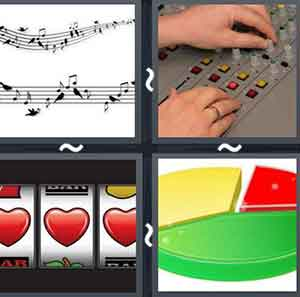 4 Pics 1 word Level 639 Answers