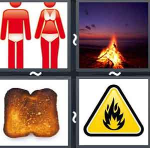 4 Pics 1 word Level 689 Answers