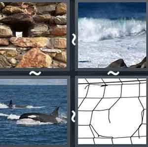 4 Pics 1 word Level 727 Answers