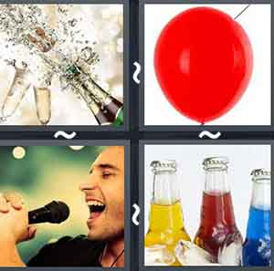 4 Pics 1 word Level 804 Answers