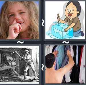 4 Pics 1 word Level 836 Answers