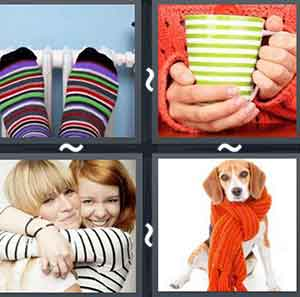 4 Pics 1 word Level 853 Answers