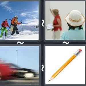 4 Pics 1 word Level 866 Answers