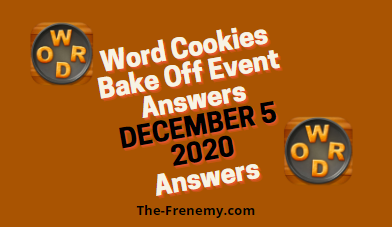 Word Cookies Bake Off December 5 2020 Answers Daily