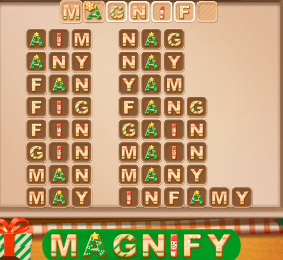 Word Cookies December 11 2020 Answers Today