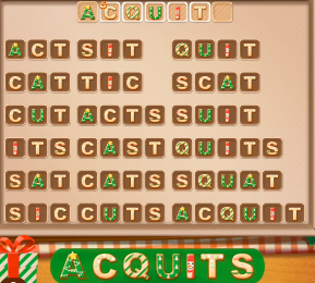 Word Cookies December 25 2020 Answers Today