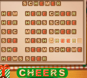 Word Cookies December 5 2020 Answers Today