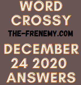 Word Crossy December 24 2020 Answers Puzzle