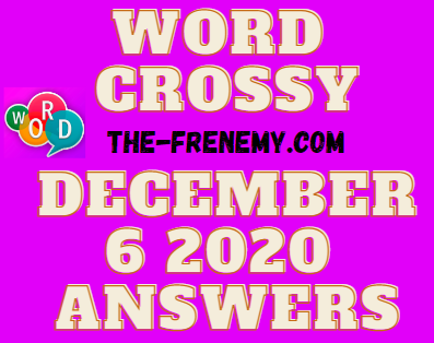 Word Crossy December 6 2020 Answers Daily