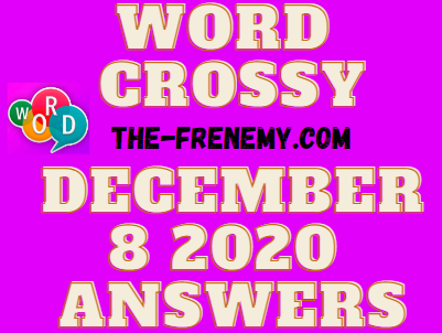 Word Crossy December 8 2020 Answers Daily