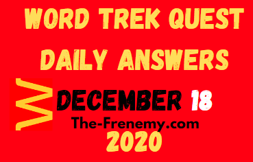 Word Trek December 18 2020 Answers Puzzle