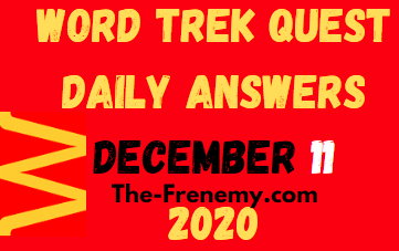 Word Trek Quest Daily December 11 2020 Answers