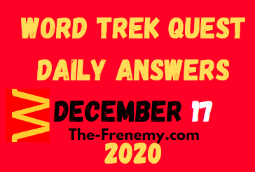 Word Trek Quest December 17 2020 Answers Daily