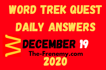Word Trek Quest December 19 2020 Answers Puzzle