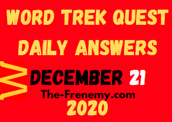 Word Trek Quest December 21 2020 Answers Puzzle