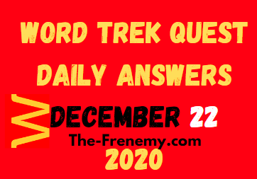 Word Trek Quest December 22 2020 Answers Puzzle