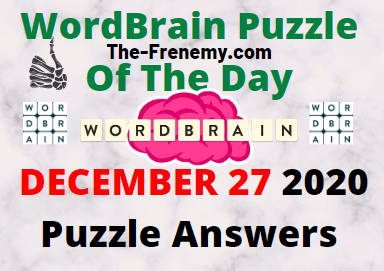 WordBrain Puzzle of the Day December 27 2020 Answers