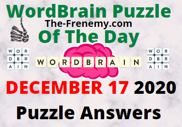 Wordbrain Puzzle of the Day December 17 2020 Answers Puzzle