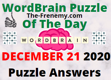Wordbrain Puzzle of the Day December 21 2020 Answers Puzzle