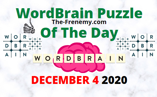Wordbrain Puzzle of the Day December 4 2020 Answers