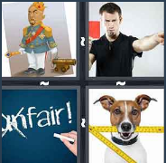 4 Pics 1 Word Level 3367 Answers