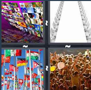 4 Pics 1 Word Level 3470 Answers
