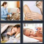 4 Pics 1 Word Level 3556 Answers