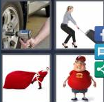 4 Pics 1 Word Level 3595 Answers