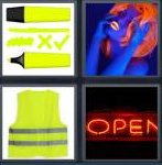 4 Pics 1 Word Level 3641 Answers