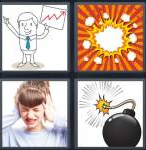 4 Pics 1 Word Level 3661 Answers